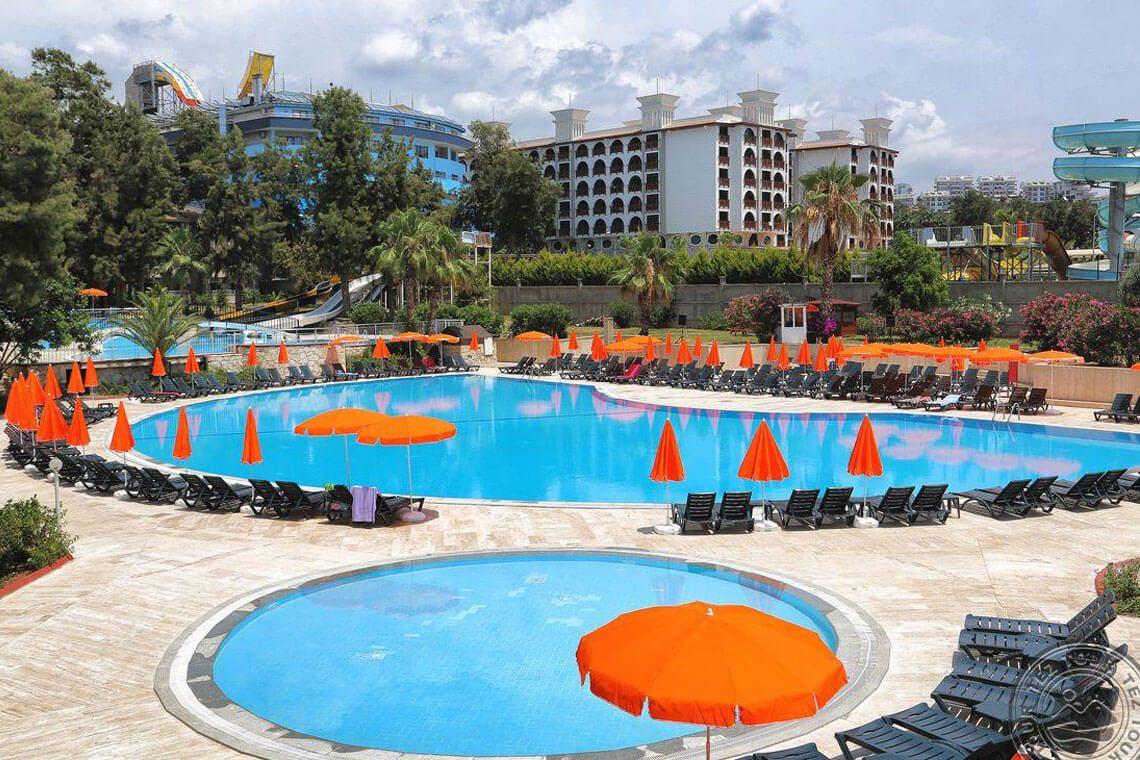 Bayar Garden Beach Hotel Alanya - Güneş Enerjisi Projesi   Alberk Solar