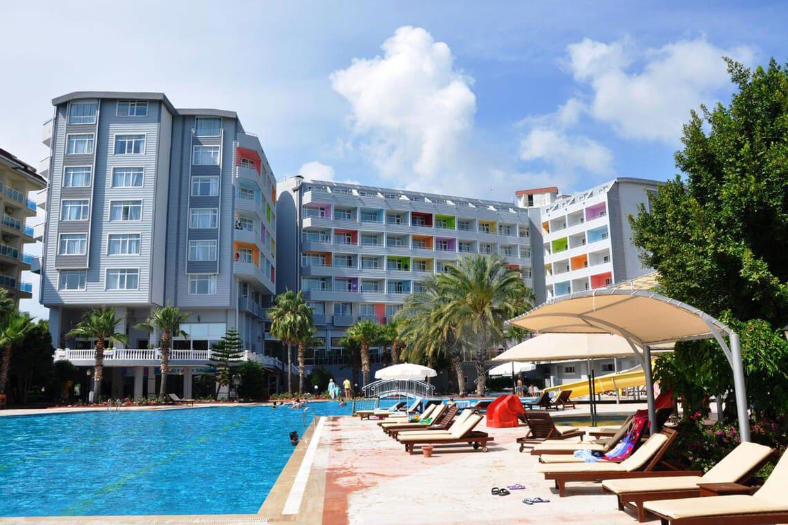 Club Karaburun Hotel Alanya - Güneş Enerjisi Projesi | Alberk Solar