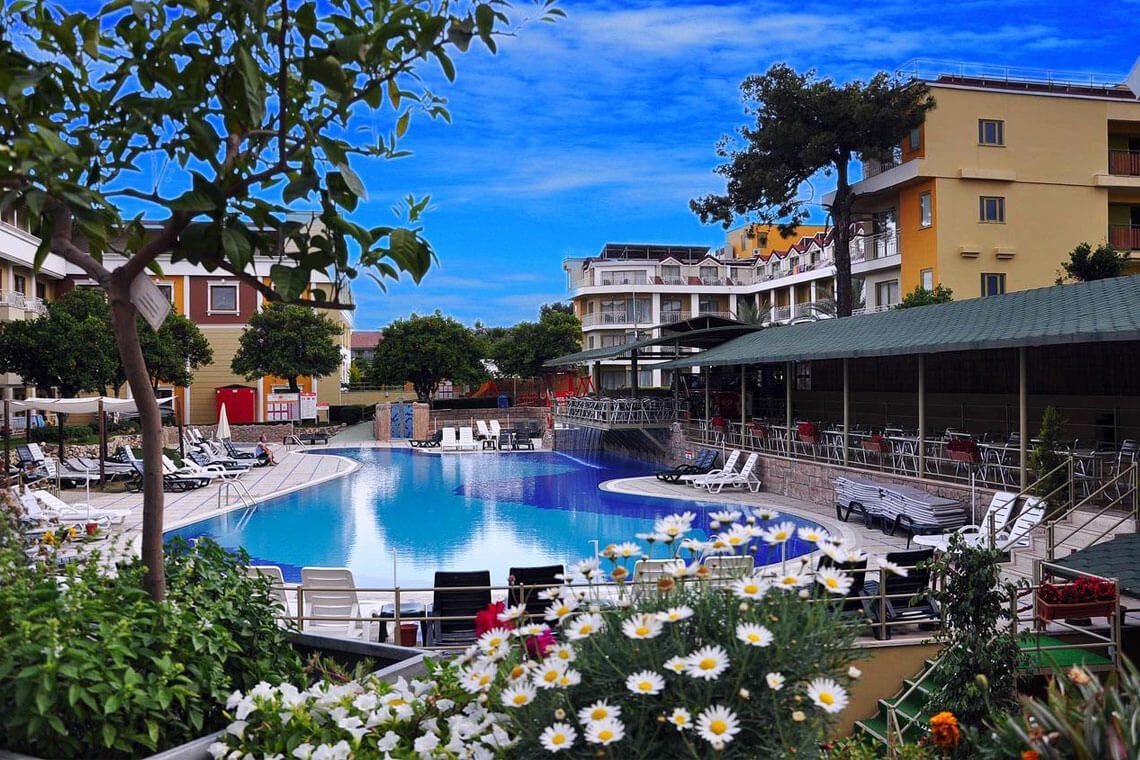 Novia Gelidonya Hotel Kemer - Güneş Enerjisi Projesi   Alberk Solar